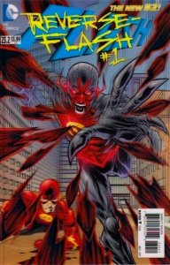 The Flash #23.2  (3-D Motion Cover) Reverse Flash  (ungraded) stock photo ID#B-3