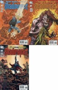 SHADOWPACT 20-22  Black & White 3-part story