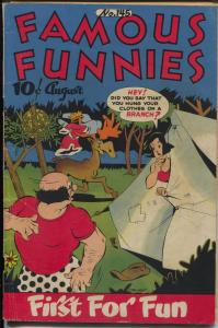 Famous Funnies #145 1946-Buck Rogers-Scorchy Smith-Steve Roper-Dickie Dare-VG