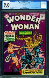 WONDER WOMAN #160 CGC 9.0 First Silver-Age CHEETAH 1966-1989559002