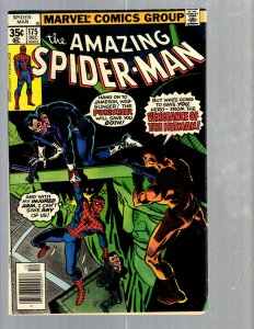 Amazing Spider-Man # 175 VF Marvel Comic Book MJ Vulture Goblin Scorpion TJ1