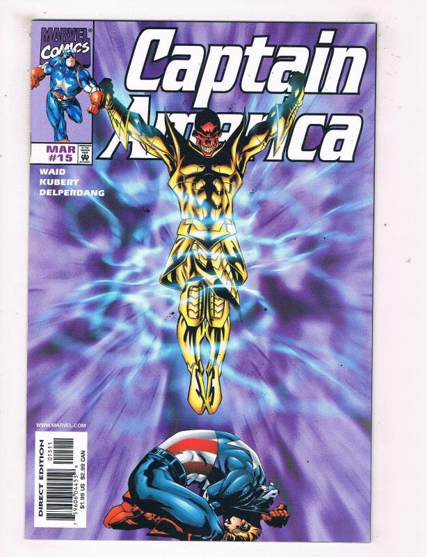 Captain America #15 VF/NM Marvel Comics Comic Book Waid Avengers DE45