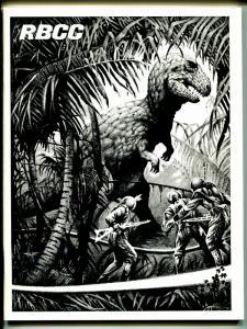 Rockets Blast & Comic Collector #131 1976-Ray Bradbury-dinosaur-Steve Fabian-VF