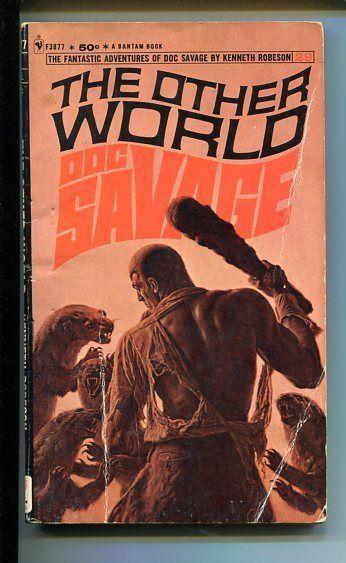 DOC SAVAGE-THE OTHER WORLD-#29-ROBESON-G-JAMES BAMA COVER-1ST EDITION G