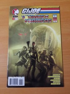 G.I.Joe Vs. Transformers II #3 ~ NEAR MINT NM ~ (2004, DDP Comics)