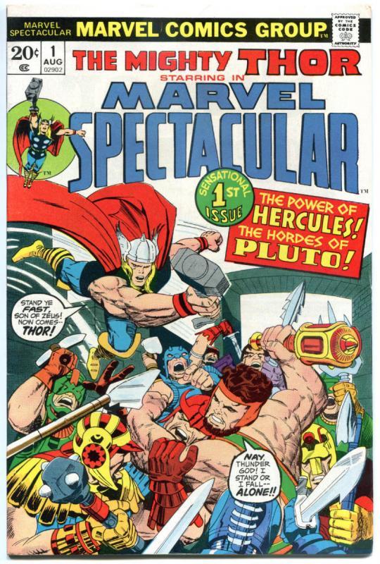 MARVEL SPECTACULAR #1 2 3 4 5 6 7 8 9-19, VF, Jack Kirby, Hercules, Thor, 1973