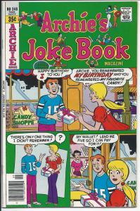 Archie's Joke Book  #248 - Bronze Age - Sept., 1978 (VF+)