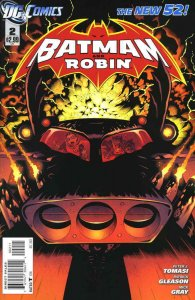 Batman and Robin (2nd Series) #2 VF/NM; DC | save on shipping - details inside