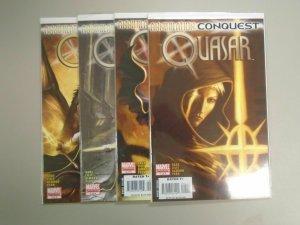 Annihilation Conquest Quasar (2007), Set:#1-4, 8.0/VF (2007)