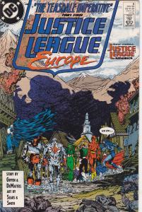 Justice League Europe #8