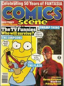 Comics Scene (Vol. 2) #16 FN; Starlog | save on shipping - details inside