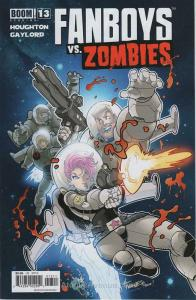 Fanboys Vs. Zombies #13 VF/NM; Boom! | save on shipping - details inside