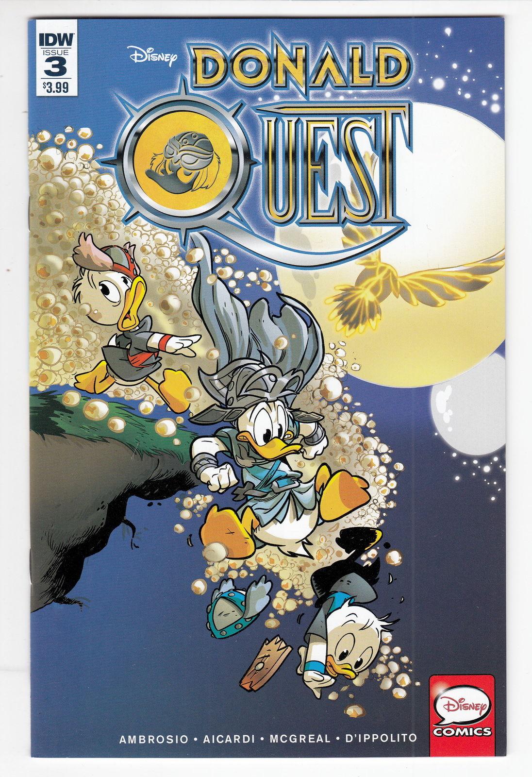 Donald Quest #2 IDW NM Comics Book