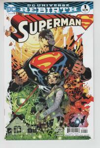 SUPERMAN (2016 DC COMICS) #1