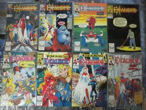Excalibur (1988) #1-20 Marvel UK X-Men Truth Justice & Stiff Upper Lips!