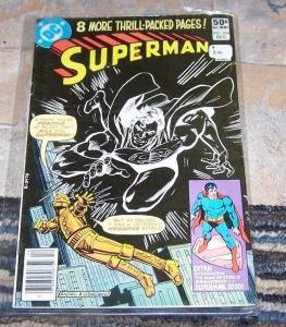 Superman # 354 (Dec 1980, DC 1st app superman III of 2020 ( grandson) oj simpson
