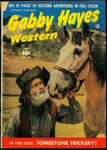 GABBY HAYES WESTERN #20 1950 FAWCETT MOVIE PHOTO COVER VG-