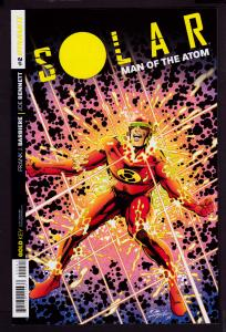 Solar Man of the Atom #2 (2014 Series) Subscription cover  9.6 NM+