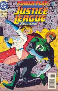 Justice League Europe #59, NM- (Stock photo)