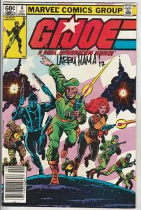 G.I. Joe signed #4 (Oct-82) VF High-Grade G.I. Joe