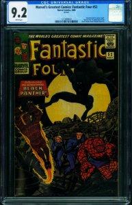 Marvel's Greatest Comics: Fantastic Four #52 REPRINT-CGC 9.2 1273089001