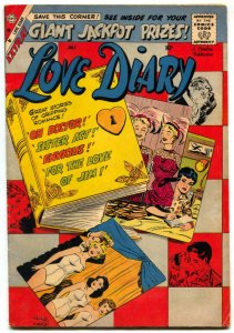 Love Diary #5 1959- Vince Colleta- Charlton Romance Comic- G