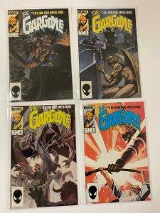 The Gargoyle Set# 1-4 Direct Edition 6.0 FN (!985)