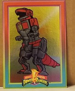 1994 Mighty Morphin Power Rangers Foil #8