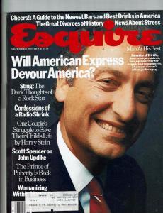 Lot Of 4 Esquire Magazines November December 1983 January February 1984 J142