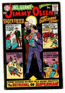 Superman's Pal Jimmy Olsen #113 1968 giant size issue comic book VG