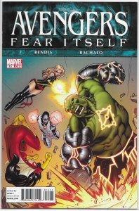 Avengers (vol. 4, 2010) # 15 VF/NM (Fear Itself) Bendis/Bachalo