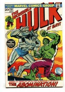THE INCREDIBLE HULK #159 1972-Abomination vs. Hulk Marvel FN/VF