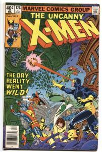 UNCANNY X-MEN #128 comic book 1979-MARVEL COMICS-REALITY GOES WILD VF-