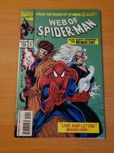 Web of Spider-Man #113 Direct Market Edition ~ NEAR MINT NM ~ (1994 Marvel
