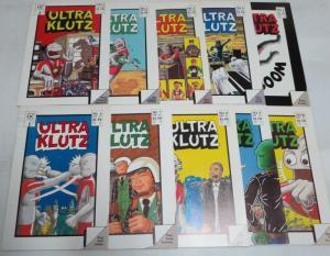 ULTRA KLUTZ (1986) 1-10  Jeff Nicholson riffs on 1980s