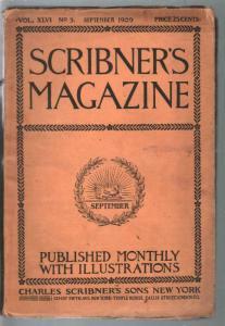 Scribner's 9/1909-Skyscraper Evolution-James Montgomery Flagg-pulp-VG