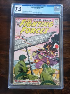 Our Fighting Forces 77 CGC 7.5