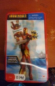 Ironman 2 battle dominoes