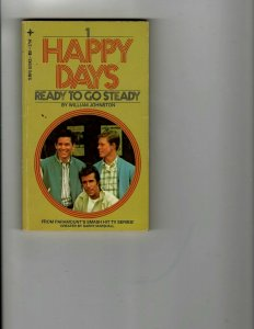 3 Books Happy Days Ready to Go Steady Mad Look at Movies Jackie Robinson JK26