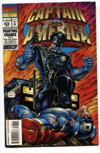 Captain America #428-1994 1st appearance of AMERICOP NM-