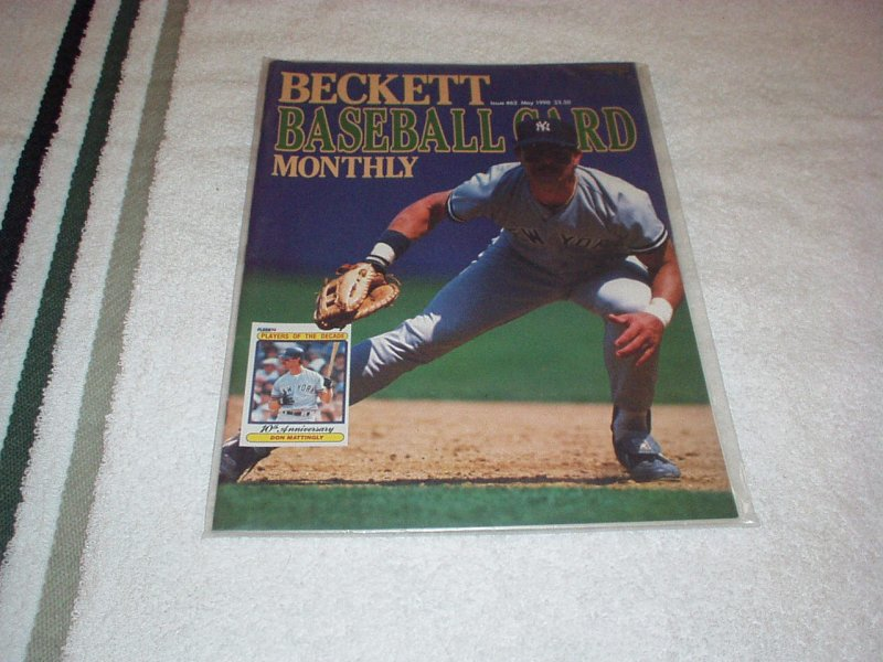 Beckett Baseball Card Monthly 1990 DON MATTINGLY, Gaylord Perry, Photos, Guide+