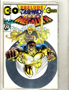 10 Continuity Comics Prelude Deathwatch 2000 1 2 3 4 5 7 8 9 10 13 Megalith RM1
