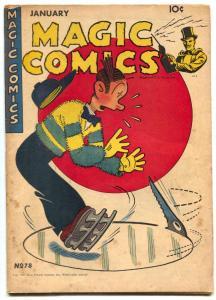 Magic Comics #78 1946-Blondie- Lone Ranger-Popeye VG