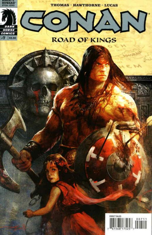 Conan: Road of Kings #7 VF/NM; Dark Horse | save on shipping - details inside