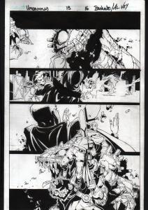 UNCANNY X-MEN #13-2012-ORIGINAL ART-PG 16-CHRIS BACHALO-MARVEL