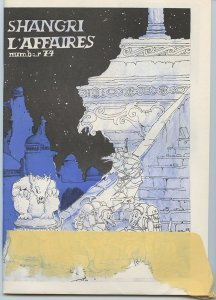 Shangri L'Affaires 74 (Sept. 1, 1968) - SCARCE FANZINE - Historical document