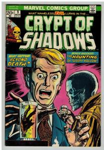CRYPT OF SHADOWS 9 VG-F March 1974