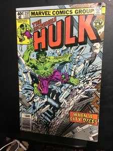 The Incredible Hulk #237 (1979)  high-grade Machine Man key! VF/NM Wow