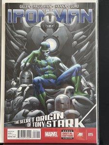 Iron Man #15 The Secret Origin of Tony Stark (2013)