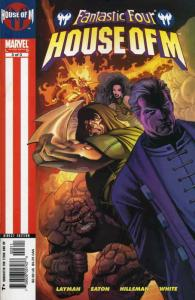 Fantastic Four: House of M #3 FN; Marvel   save on shipping - details inside
